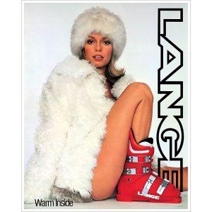 Lange Classic Warm Inside Ski Poster